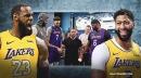 Video: LeBron James, Anthony Davis get their mind blown by magician David Blaine