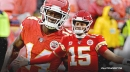 Chiefs' Patrick Mahomes reacts to Sammy Watkins' new deal