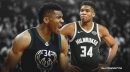 Bucks' Giannis Antetokounmpo doesn't have access to a hoop at home