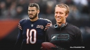 Nick Foles speaks out on quarterback competition with Mitch Trubisky