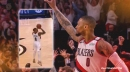 Damian Lillard breaks down game-winning shot vs. Thunder in playoffs