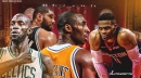 Russell Westbrook reacts to Kobe Bryant, Tim Duncan, Kevin Garnett making Hall of Fame