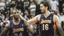 Pau Gasol shares Kobe Bryant's incredible gesture to welcome him to Lakers