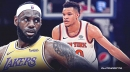 LeBron James' advice for Knicks' Kevin Knox in order to thrive in social media age
