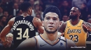Devin Booker explains why he'd rather play Bucks over Lakers in a 7-game series