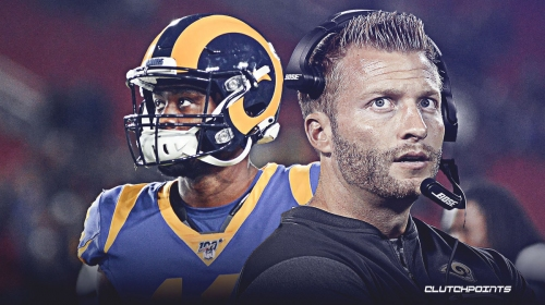 Rams coach Sean McVay opens up about Brandin Cooks trade rumors
