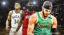 Celtics' Jayson Tatum thinks James Harden was robbed of MVP last season