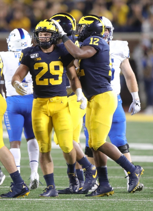 Michigan football's Jordan Glasgow, just like bros, ready to prove people wrong — again