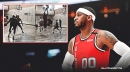 Carmelo Anthony giving away private training, signed memorabilia for All In Challenge