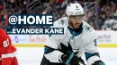 Evander Kane on his rivalry with Ryan Reaves & how his dog is keeping him in shape | @Home
