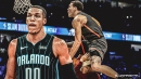 Magic's Aaron Gordon explains why he's never participating in the Slam Dunk Contest again