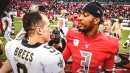 Saints' Jameis Winston happy to learn from Drew Brees, not Google