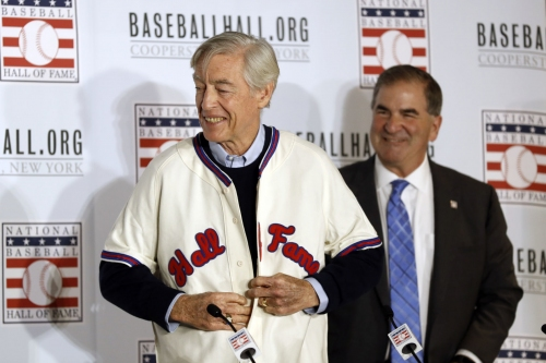 With Hall of Fame induction canceled, Cardinals' Simmons said, 'I can wait one more year'