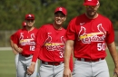 Cardinals closer Hicks continues to make strides on rehab, readying for return when or if games do