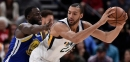NBA Rumors: Should Warriors Consider Trading Draymond Green For Rudy Gobert?