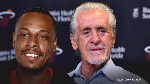 Paul Pierce disagrees with Pat Riley's assessment of Heat being 'close' to championship