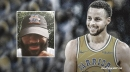 Warriors' Stephen Curry reacts to unveiling of Space Jam 2 logo