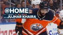 Jujhar Khaira on being a role model in the NHL | @Home