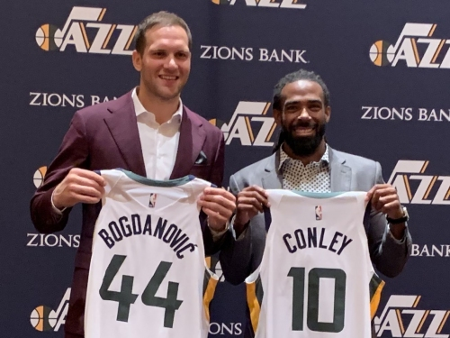 Jazz mailbag: Mike Conley's absence, positive test theory and who'll fill in for Bojan Bogdanovic?