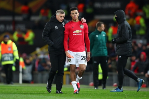 Mason Greenwood's form may be changing Manchester United's plans to bring in a striker, says John O'Shea