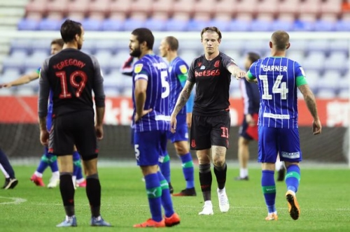Stoke City's Championship rivals Wigan Athletic to fight points deduction