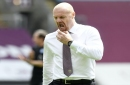 Sean Dyche reluctant to take risks over Burnley players' fitness