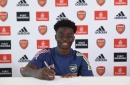 Pierre-Emerick Aubameyang delighted for Bukayo Saka and Gabriel Martinelli after Arsenal tie down young duo