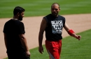 Trevor Bauer hopes to pitch as much as possible; Joey Votto wears 'Black Lives Matter' shirt
