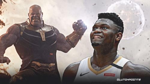 Zion Williamson gets custom Thanos chain
