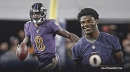Ravens QB Lamar Jackson mural is hand-painted and incredible