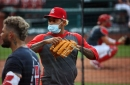 Martinez is among those cleared and joining workout at Busch