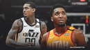 Donovan Mitchell, Jordan Clarkson react to Jazz first night in Orlando bubble