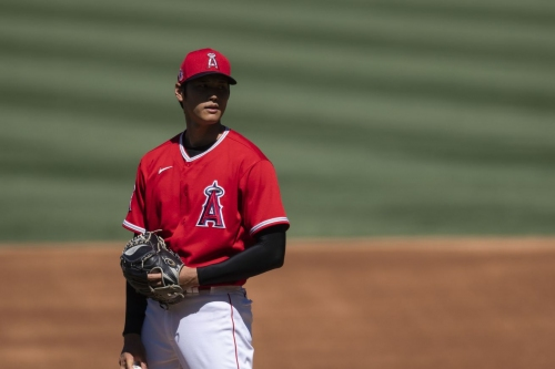 Ohtani, Heaney back on the mound in intrasquad game