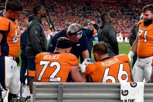 Broncos' O-line dips slightly in annual preseason rankings