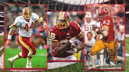 3 best running backs in Washington Redskins history