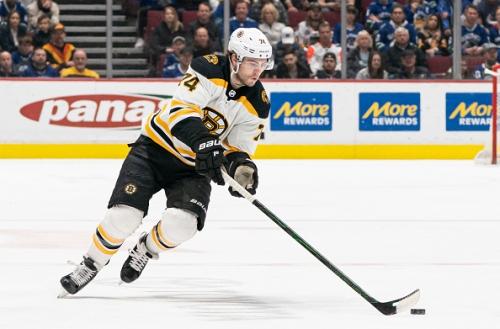 Uncertain Future for Boston Bruins Jake Debrusk