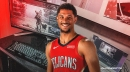 Pelicans' Josh Hart shows off his gaming setup in Orlando hotel room