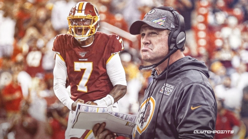 Jay Gruden made it incredibly difficult for Redskins QB Dwayne Haskins in his rookie year