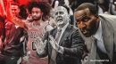 Bulls' Coby White being held back by Jim Boylen, claims Kendrick Perkins