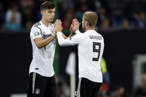 Kai Havertz wants to play alongside Timo Werner at Chelsea