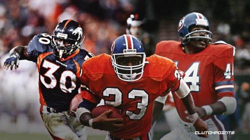 3 best running backs in Denver Broncos history