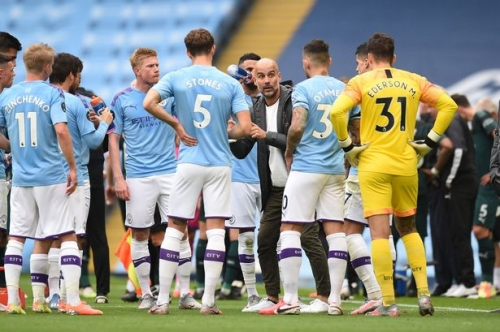 Pep's strong message to Man City players ahead of a crunch month
