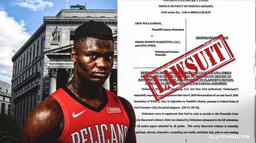 Zion Williamson faces new roadblock in lawsuit