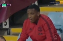 What Solskjaer said about Anthony Martial reaction to being substituted