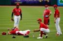 Photos: Cincinnati Reds scrimmage, July 9