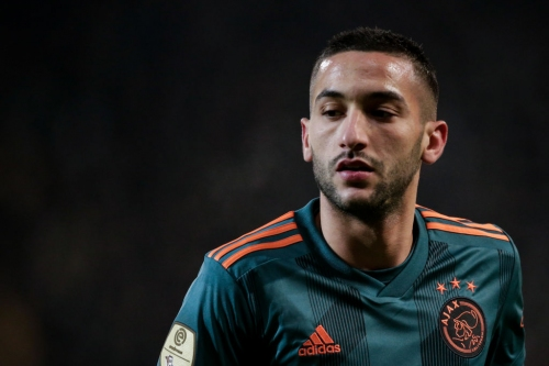 'Welcome to Chelsea' – Hakim Ziyech pictured training with Blues for first time