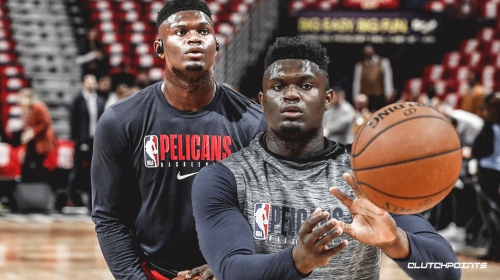 Video: Zion Williamson seems to be dominating Pelicans practice