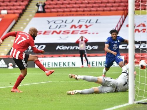 Result: David McGoldrick nets brace as Sheffield United put three past Chelsea
