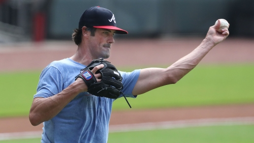 Braves' Cole Hamels skips throwing session due to triceps tendinitis