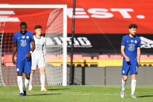 Frank Lampard insists there's 'no problem' with Antonio Rudiger after below-par cameo in Chelsea's loss to Sheffield United